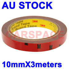 3M Double Face Sided Tape 10mm 3Meters for Indoor Outdoor sign LED lights AU