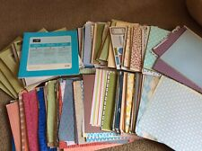 Huge Mystery Stampin Up Mixed Retired Lot - Paper, Ribbon, Buttons, & More