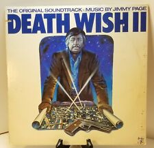 Death Wish 2 ~Charles Bronson Soundtrack Jimmy Page LP Vinyl Record Album 1982