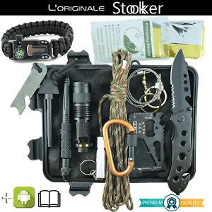Kit Sopravvivenza Militare Professionale - Emergenza Trekking Escursionismo
