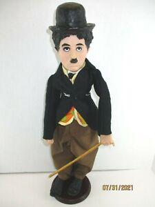 "Vintage 1972 18"" Charlie Chaplin Celebrity Doll w.Cane Bubbles By Milton Bradley"