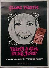 Es ist ein Mädchen in meiner Suppe. Terence Frisby. Programm Ticket 25-7-66. Donald Sinden