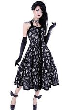Restyle Rockabilly Kleid Gothic Dress Nugoth Retro Witchy Vintage Gothabilly WGT