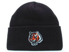 CINCINNATI BENGALS new SIDELINE BLACK CUFF KNIT FLEX HAT CAP OSFA ONE SIZE