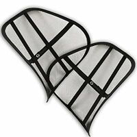 Zone Tech 2x Cool Vent Mesh Back Lumber Support For Car Office Chair And Others