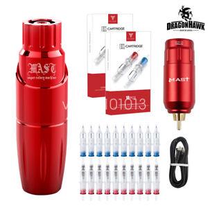 Dragonhawk Mast Wireless Power Supply Battery Pack RCA Tattoo Machine Motor PenE