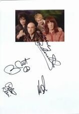 """The Lizards autograph 8""""x12"""" photo signed In Person Rock Band"""