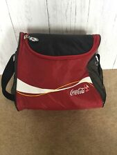 Coca Cola Cooler Lunch Picnic Sports,gym,football Insulated Bag Cooler