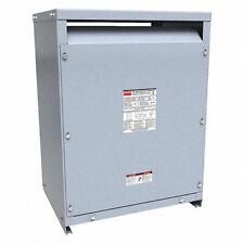 Dayton 44yv10 3 Phase Transformer 30 Kva Input 480v Ac Delta Floor Mount New