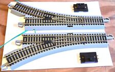 Bachmann HO Scale Track Lot EZ Track System Lot 110 Pieces Nickel Silver