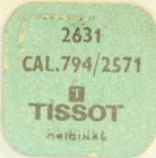 Tissot cal. 794, 2571 resorte para días disco part No. 2631 ~ nos ~