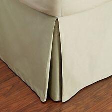 Hudson Park 800 TC Egyptian Cotton QUEEN Bedskirt EUCALYPTUS GREEN A422