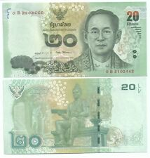 Thailand 20 baht banknote UNC 2016 16Series