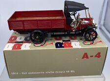 Rio 1:43 Fiat 1914 Autocarro militare civile 18BL A-4 Diecast Collectible Car