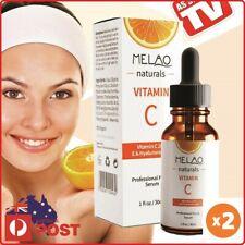 20% Vitamin C Anti Age Serum + 100% Hyaluronic Acid +1% Niacinamide (Twin Pack)