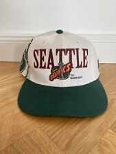 Vintage Sports Specialties SnapBack cap ha seattle sonics sonics script