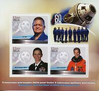 Madagascar 2018 MNH Boeing Starliner SpaceX Dragon Crew 3v M/S III Space Stamps