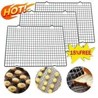 Nonstick Wire Cookie Baking Cooling Rack Frying Bread 1 Cake Tray Tool Grid D5P9