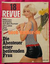 REVUE 1966 Nr. 18 (27.4.66) Udo Jürgens/Lothar Emmerich/Margaret Lee/Starfighter