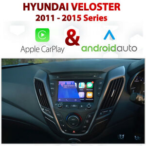 Hyundai Veloster 2011-2015 Factory Audio Integrated CarPlay / Android Auto pack