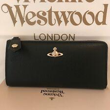 Vivienne Westwood Soft Grain in pelle Borsetta con zip-Legno