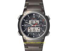 Funkuhr Titan von Garde Ruhla 6-15BM  Alarm Stopp Datum Licht mit Titanband