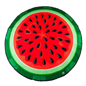 WATERMELON BigMouth Affordable High Quality 5ft Soft Gigantic Beach Blanket