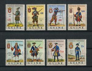 Portuguese Guinea Guine Portugal 1966 MILITARY UNIFORMS complete set MNH, FVF