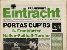 26.-28.12.1983 HT Concordia Francoforte, Young Boys Berna, Daewoo Royals (Corea)...