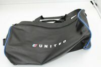 Vintage United Airlines Bag Duffel Black great shape free shipping