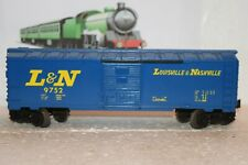 O Scale Trains Lionel Louisville Nashville Box Car 9752