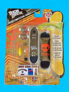 """Tech Deck """" Zero Wood Competition Series"""" 96mm fingerboard Hard To Find New"""