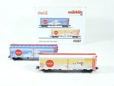 """Märklin H0 45687, Güterwagen-Set """"Coca-Cola®"""", neu, OVP"""