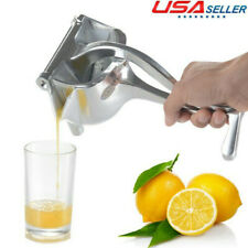 Lemon Fruit Juicer Orange Juice Squeezer Kitchen Manual Hand Press Machine USA