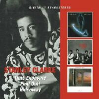 STANLEY CLARKE - TIME EXPOSURE/FIND OUT!/HIDEAWAY 2 CD NEW!