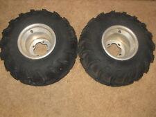 01 yamaha yfm350 warrior 350 Rear ITP Rims Wheels ITP Mud Lite Tires 22x11-9