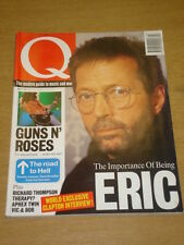 Q MUSIC MAG 90 MAR 1994 CLAPTON GNR SLASH APHEX TWIN