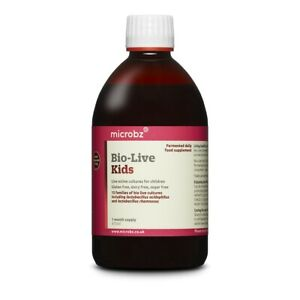 Microbz Bio-Live Kids 475ml - Live Active Cultures for Children (Reduced)