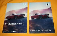 BMW Z4 2018 (CH F) Prospekt Brochure Depliant Prospetto Catalog Folder Z 4