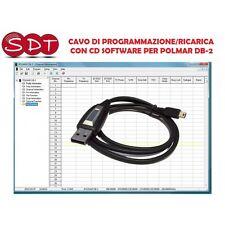 CAVO DI PROGRAMMAZIONE/RICARICA + SOFTWARE PER POLMAR DB-2