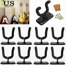 8pcs Metal Guitar Hanger Hook Holder Rack Wall Mount Stand Display Guitar B