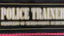 Police Trainer Property Of Metro Police Academy Side art Arcade
