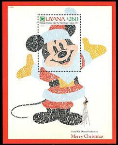 "GUYANA 2487 (SG3245h) - Disney Christmas ""Mickey Mouse Film Titles"" (pa91472)"