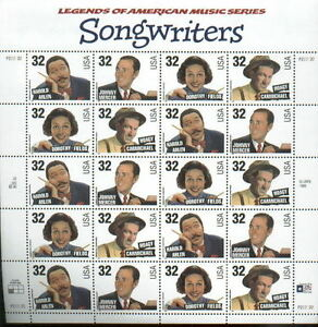 Scott 3100-03 Songwriters Sheet