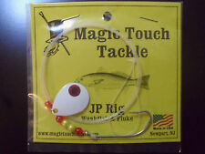 """Magic Touch Tackle No.445 JP RIG"""" for Weakfish - Fluke - Summer Flounder - WHITE"""