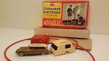 Jouets ADOR (France) - Miniabloc - Caravane électrique téléguidée (Années 50)