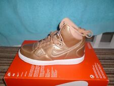 the best attitude 74bc3 748a5 Ladies Womens Nike Son of force Gold Mid Boots UK size 4.5..New in
