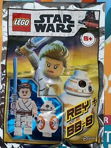 LEGO STAR WARS: Rey & BB-8 Minifigure Polybag Set 912173. New Sealed