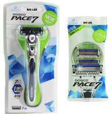 Dorco Pace 7 1 Razor Handle With 1 Cartridge + 2 Cartridges BRAND NEW SEALED