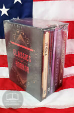NEW SEALED Classics of Horror Box Set Dracula Frankenstein Jekyll Poe Lovecraft